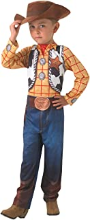 Rubie's Official Disney Toy Story Classic Woody Costume, Child Size Toddler Age 2-3 Years