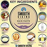 Hair Paste for Men - Hair Styling Cream with Minimal Shine & Medium Hold (2 ounces) - Styling Paste for Textured Messy… 3