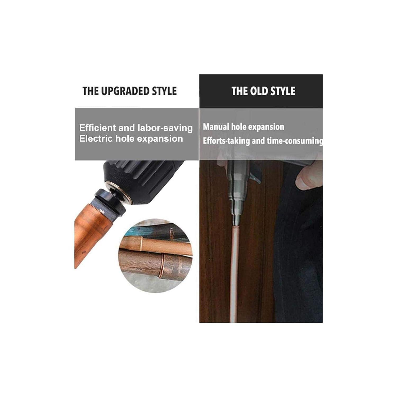 1//2 Multifunction Copper Pipe Flaring Tool 5//8 2 Set Brand YIHOME 6pcs Swaging Tool Drill Bit Set 3//8 1//4 Portable Bearing Steel Drill Bit Expander 3//4 7//8 Steel
