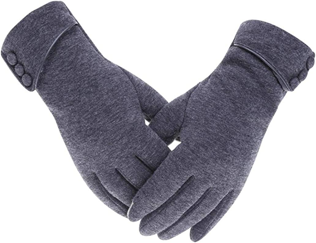 Cold Outstanding Weather Gloves Warm Max 71% OFF Thermal Unisex for Knit Anti-Slip Glove