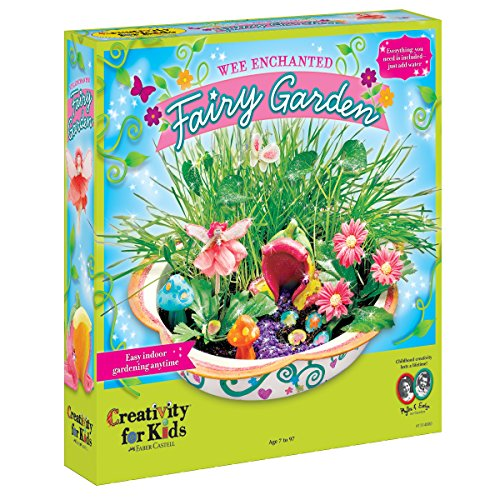 Image of the Creativity for Kids Enchanted Fairy Garden Craft Kit - Fairy Crafts for Kids