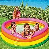 Piscina Inflable para Bebé Inicio Grande Engrosamiento Baño De Los Niños Al Aire Libre Piscina para Niños Multi-colored-168X46cm