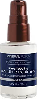 Mineral Fusion Overnight Renewal Line-Smoothing Night time Treatment, 1 Ounce