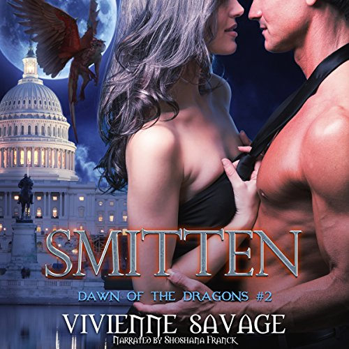 Smitten     Dawn of the Dragons, Book 2              By:                                                                                                                                 Vivienne Savage                               Narrated by:                                                                                                                                 Shoshana Franck                      Length: 9 hrs and 9 mins     2 ratings     Overall 5.0