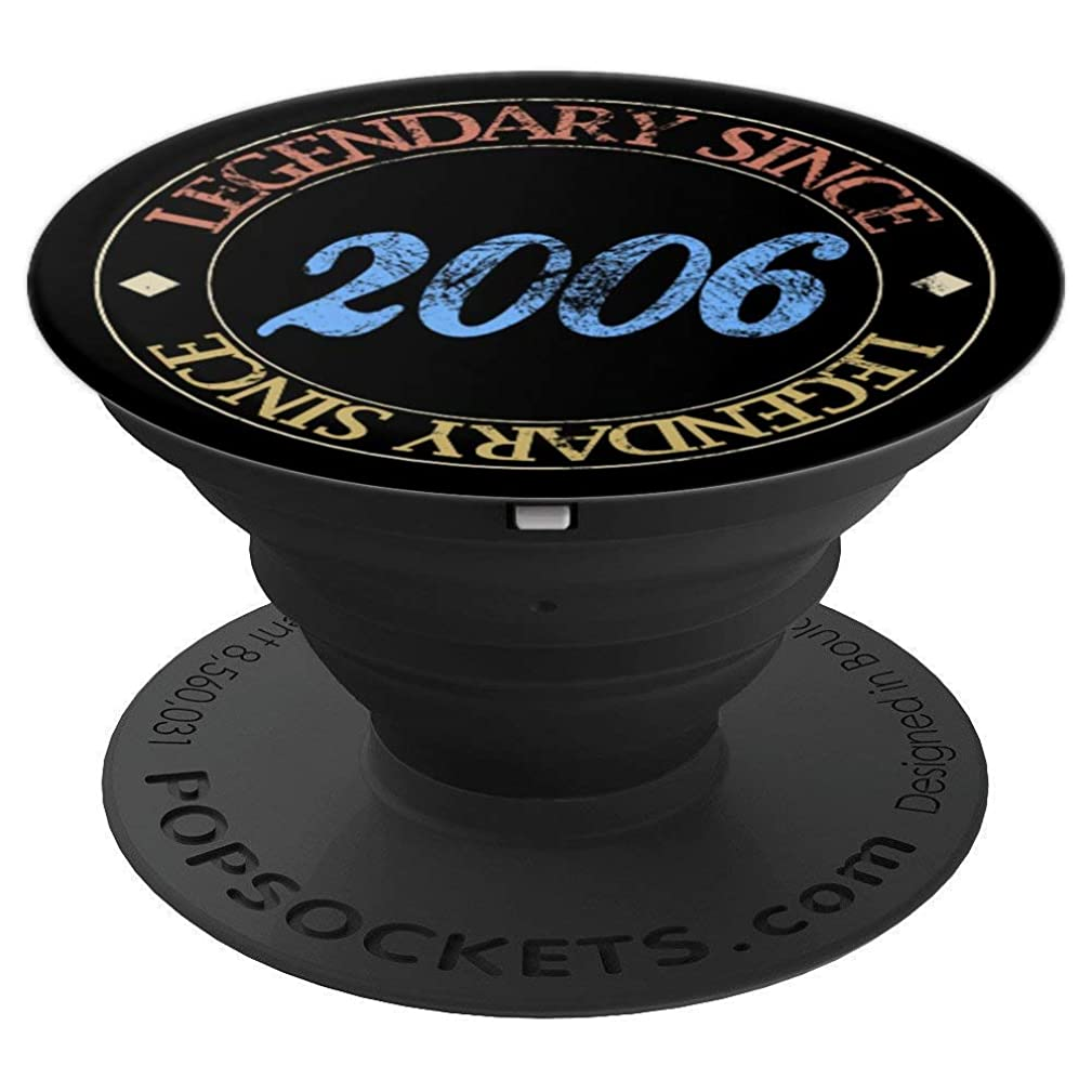 Legendary since 2006 13th Birthday Gift Vintage Retro - PopSockets Grip and Stand for Phones and Tablets