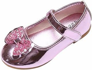 Hunpta Mädchen Glitter Pailletten Prinzessin Kleid Party Tanzschuhe