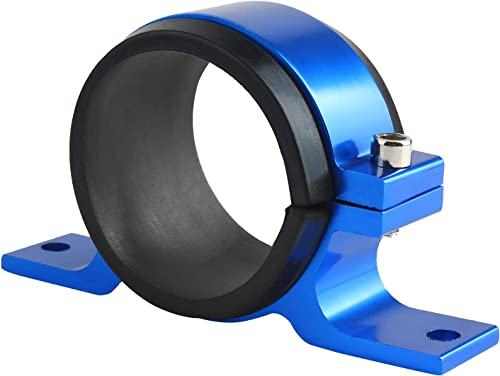 2021 Larcele Universal Fuel Filter Clamp, Fuel Pump Filter discount Fixing new arrival Frame Bracket LQQKG-01(58MM,Blue) sale
