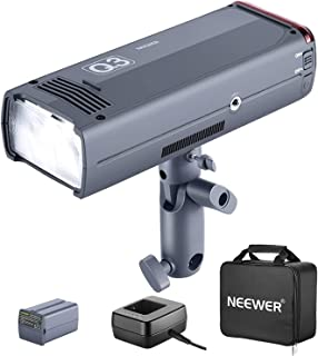 Neewer Q3 200Ws 2.4G TTL Flash Strobe 1/8000 HSS Cordless Monolight with 3200mAh Lithium Battery to Cover 500 Full Power S...