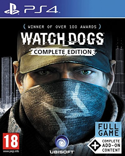 Ubisoft Watch_Dogs: Complete Edition, PS4 Básico + complemento + DLC PlayStation 4 vídeo - Juego...