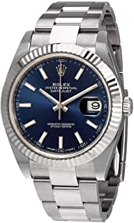 Oyster Perpetual Datejust 41 Blue Dial Automatic Men's Watch 126334BLSO