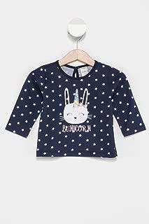 DeFacto Kız Bebek Mini Yıldız ve Unicorn Baskılı Body