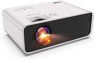 Mini Projector - Artlii Enjoy Portable Projector with ±45° Digital 4D Keystone Correction, Lower Noise, HiFi Stereo,1080P ...