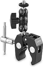 SMALLRIG Multi-Functional Ballhead Clamp Magic Arm Adapter with Bottom Clamp - 2161