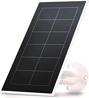 Arlo Certified Accessory, VMA5600 Solar Panel Charger, Weather Resistant, 8 ft Magnetic Power Cable, Adjustable Mount, Des...