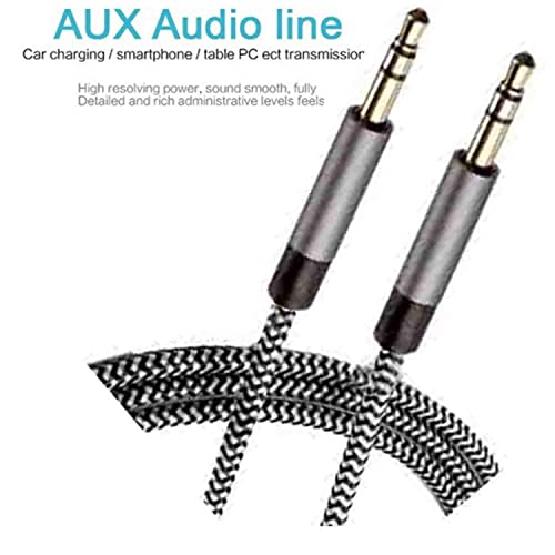 GKP PRODUCTS Aux-Connect Audio Cable for Headphones, iPods, iPhones, iPads, Home/Car Stereos etc
