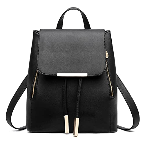 0acffe68a5 Z-joyee Casual Purse Fashion School Leather Backpack Shoulder Bag Mini  Backpack for Women