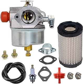 632795A Carburetor with 35066 Air Filter replacement for Tecumseh 632795 632046A 632078A 632099 TVS90 TVS100 ECV100 TVS120 TVS105 TVS115 TVXL115 TVXL90 TNT120 LAV35 TVXL115 TVS75 TVXL105 Engine Carb