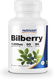 Best bilberry extract 1200 mg Reviews