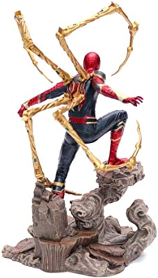 HYYSH Avengers 4 Iron Spiderman Hand Model Toy Gift: Amazon ...