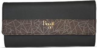 Baggit Autumn-Winter 2020 Faux Leather Women's 3 Fold Wallet (Black) (Tiler)