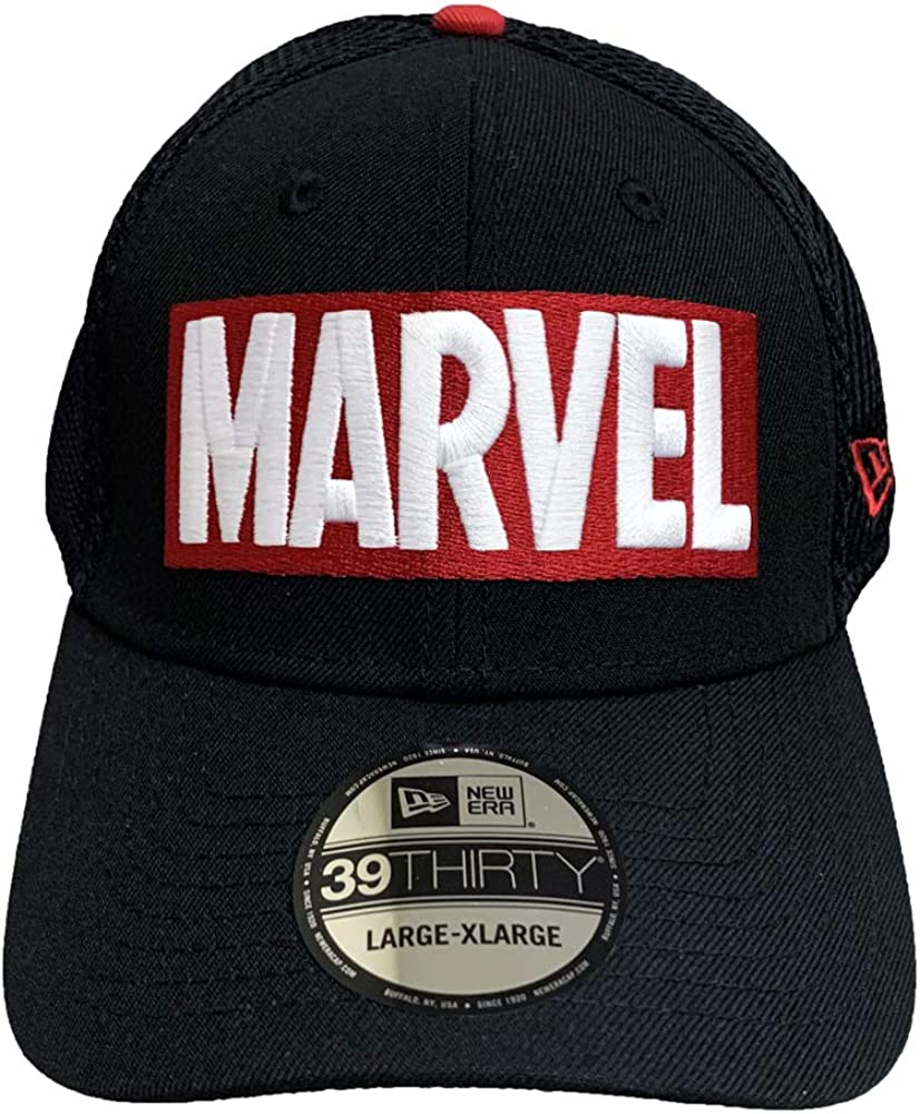New Era Marvel Comics Neo Logo 80th Cap 39THIRTY Fitted Hat