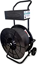 Strapping Cart/Dispenser for Polypropylene (PP) Strapping Coils with 8 x 8 Core