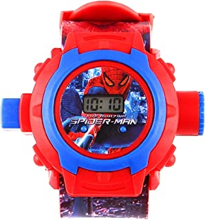 Generic Digital 24 Images Projector Watch for Kids, Diwali Gift, Birthday Return Gift (Color May Vary)