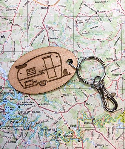Vintage Shasta Travel Trailer Key Fob
