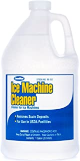 ComStar 90-352 Ice Machine Cleaner - Lime and Scale Remover, 1 gal Bottle,White