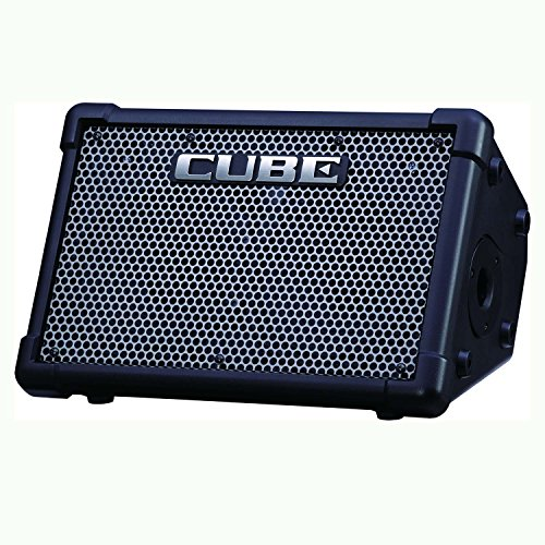 Roland CUBE-ST-EX Cube Street EX 50-watt 4-channel 2x8' Battery Powered Guitar Combo Amplifier with 1 Year Free Extended Warranty