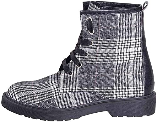 Chaussures Chaussures et Chaussures en Tissu écossais Taille Nombre 36Talon 3cm Made in  Tweed Blanc Noir Damienne Studio créations dts-06