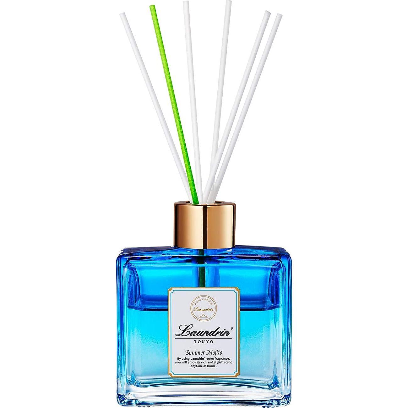 へこみあいにく花に水をやるランドリン ルームディフューザー サマーモヒートの香り 80ml