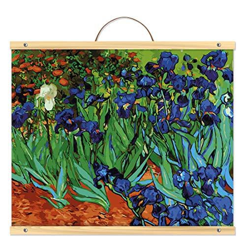 Van Gogh Irises Paint-by-Number Kit by Artist's Loft Necessities