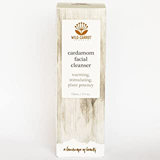 Cardamom Facial Cleanser Wild Carrot Herbals 150 mL Liquid