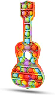 Pop to It Fidget Toy - Push It Pop Bubble Fidget Sensory Toy (گیتار)