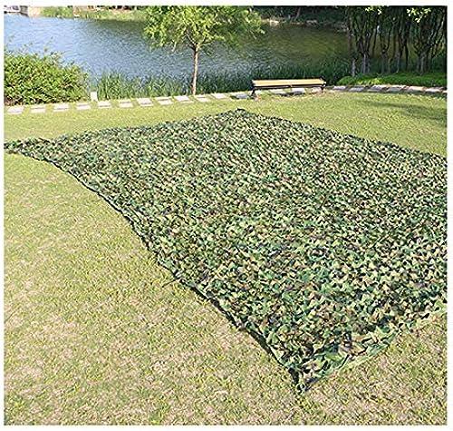 SJMWZB Filet de Camouflage extérieur, Camping Prougeection Solaire Net, approprié pour la Chasse de la Faune Photographie Voiture Parasol Loisirs Camping Bar boisé. (Couleur   A, Taille   7  10m)