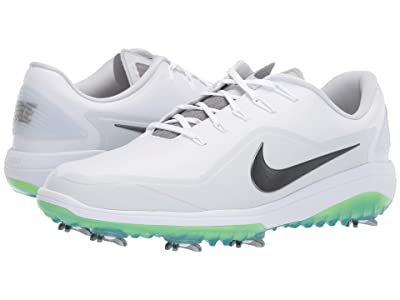 Nike Golf React Vapor 2 (White/Medium Grey/White/Pure Platinum) Men
