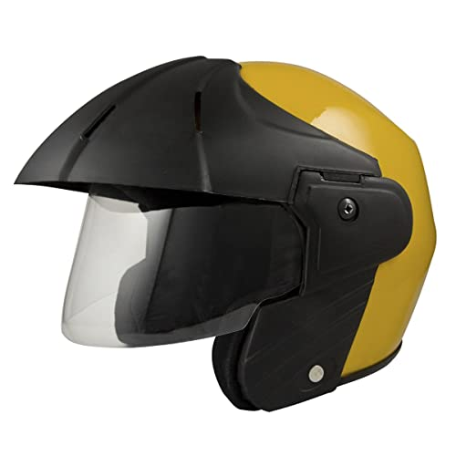 Sage Square Benz Power Plus Open Face Helmet (Small, Desertstorm Glossy)