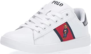 Polo Ralph Lauren Unisex-Child Quilton Bear Sneaker