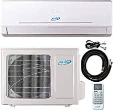24000 Btu 21 SEER Ductless Mini Split DC Inverter Air Conditioner Heat Pump System 208-230 Volt with 15ft Kit (24000 Btu)