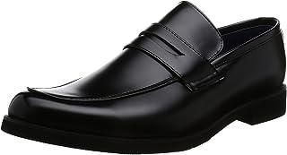 [アットジーノ] ビジネスシューズ ZN5003 防水 紳士靴 通学 ローファー 雨 幅広 4E 軽量 メンズ