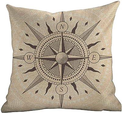 Amazon.com: Fundas de almohada mate para sofá/cama, costera ...