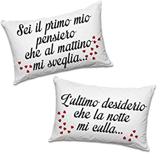 Federe Cuscini Amore.Amazon It Federe Cuscino Amore Casa E Cucina