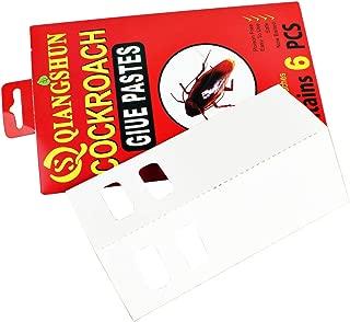Yardwe New Cucaracha pegajosa Trampa de Pegamento Cucaracha Junta de Pegamento Productos no tóxicos para el Medio Ambiente Control de plagas (Rojo)