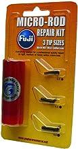 Fuji BMFRK4C Micro Rod Repair Kit with (3) Tips and Hot Melt Glue, Black Finish