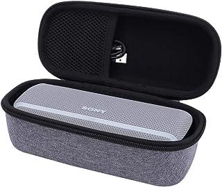 ソニー Sony SRS XB21 Bluetooth ポータブルスピーカー 専用保護収納ケース-Aenllosi(グレー)
