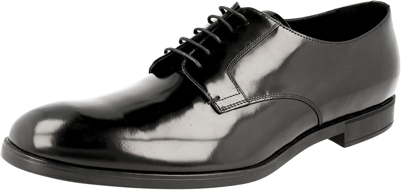 Prada Herren 2ee105 Leder Business Schuhe B07C6KY5GK  | Luxus
