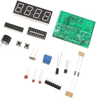 Homyl DIY PCB Leiterplatte Digitale LED Elektronische Uhr Kits Gesetzt 4 Digit