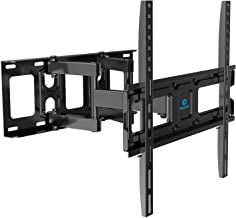 TV Wall Mount Bracket Full Motion Dual Swivel Articulating Arms Extension Tilt Rotation, Fits Most 26-55 Inch LED, LCD, OL...