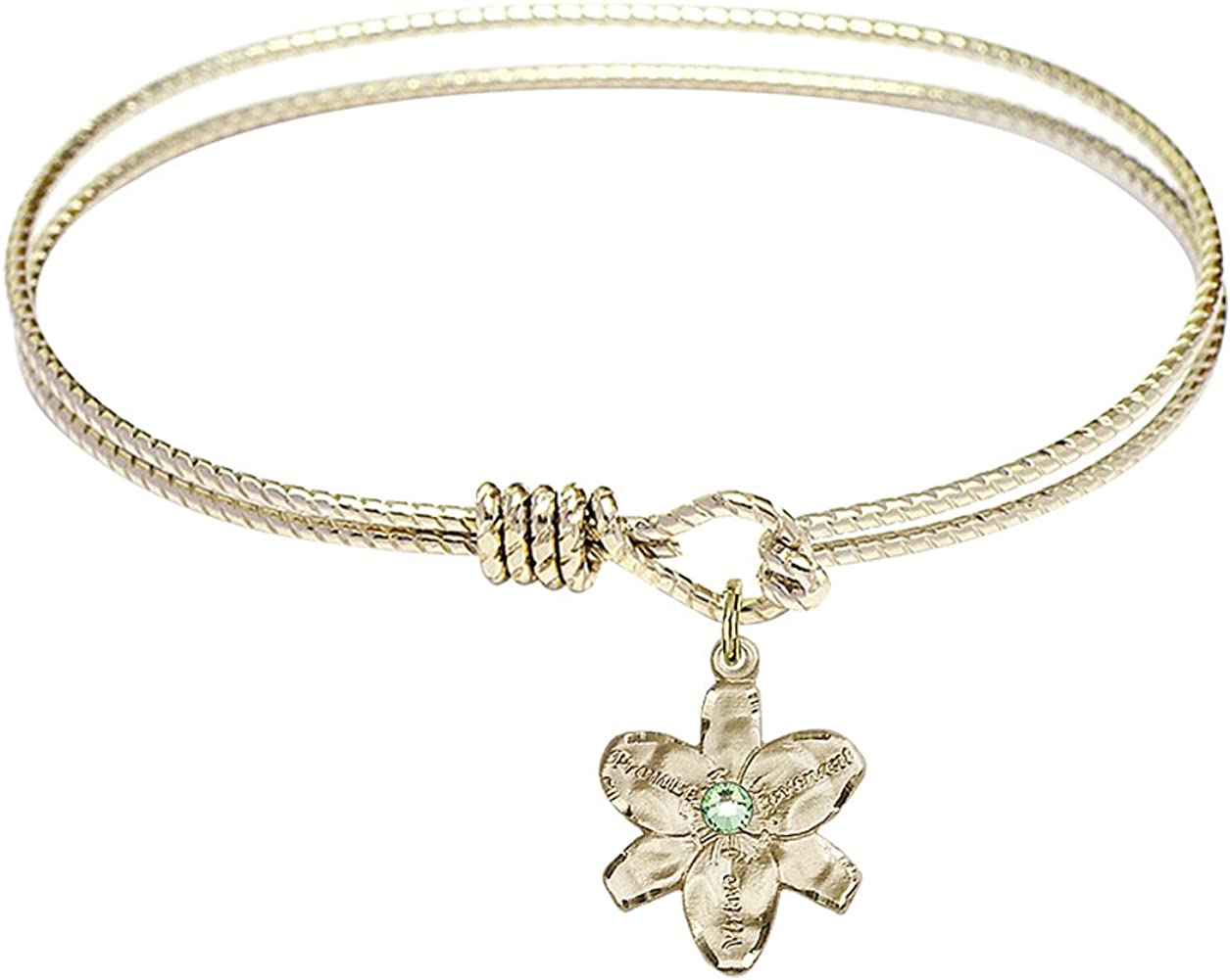 DiamondJewelryNY Eye Hook Bangle Bracelet Chastity with free shipping 40% OFF Cheap Sale a Charm.
